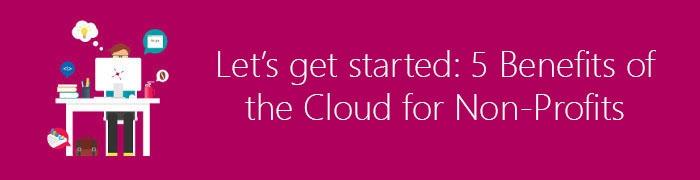 cloud non profits