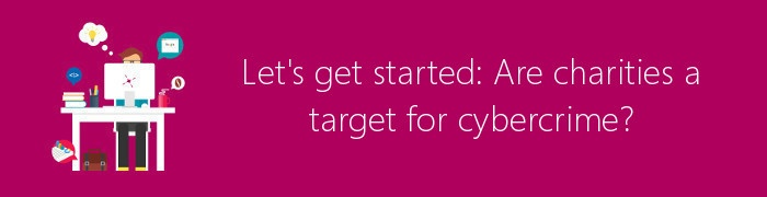charities cybercrime